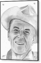 Ronald Reagan Acrylic Print