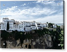 Ronda - Spain - Landscape 3 Acrylic Print by Andrea Mazzocchetti
