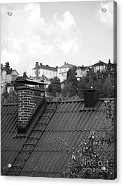 Roof Acrylic Print by Tapio Koivula