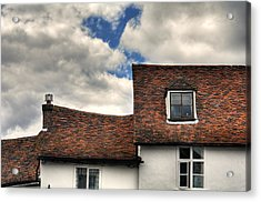 Roof Tops Acrylic Print by Tom  Wray