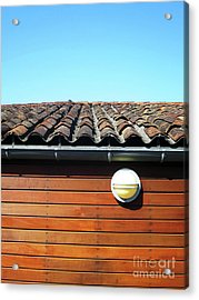 Roofline Ripples Acrylic Print