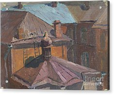 Roofs Acrylic Print by Andrey Soldatenko