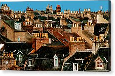 Rooftop Fantasy Acrylic Print