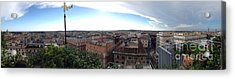Rooftops Of Rome Acrylic Print