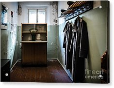 Room For The Kgb Prison Guards Acrylic Print by RicardMN Photography