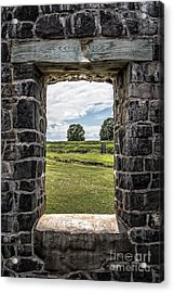 Room With A View Acrylic Print by Edward Fielding