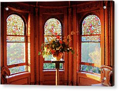 Room With A View Acrylic Print by Kristin Elmquist