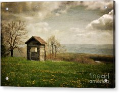 Room With A View Acrylic Print by Lois Bryan