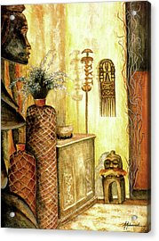 Room With A View Acrylic Print by Marcella Muhammad