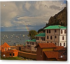 Room With A View Acrylic Print by Ron Dubin