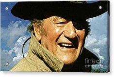 Rooster Cogburn, John Wayne, True Grit Acrylic Print