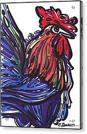 Rooster Acrylic Print