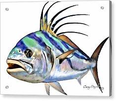 Roosterfish Digital Acrylic Print