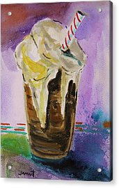 Root Beer Float Acrylic Print