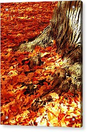 Rooted In New England Acrylic Print