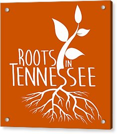 Roots In Tennessee Seedlin Acrylic Print