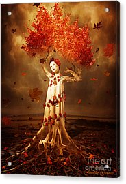 Roots Acrylic Print by Jennifer Gelinas