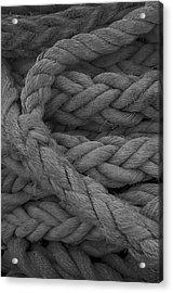 Rope I Acrylic Print by Henri Irizarri
