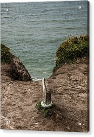 Acrylic Print featuring the photograph Rope Ladder To The Sea by Odd Jeppesen