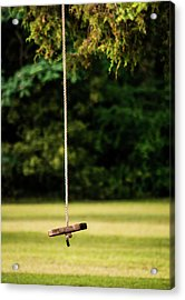 Acrylic Print featuring the photograph Rope Swing  by Shelby Young