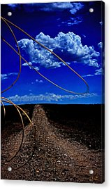 Rope The Road Ahead Acrylic Print