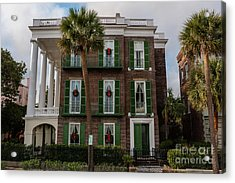 Roper Mansion In December Acrylic Print