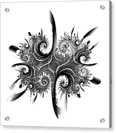 Rorschach Acrylic Print by David April