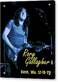 Rory In Kent Acrylic Print by Ben Upham