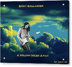 Million Miles Away Acrylic Print