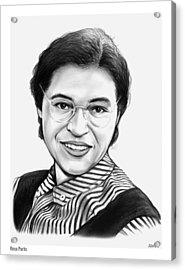 Rosa Parks Acrylic Print by Greg Joens