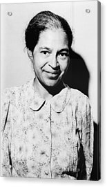 Rosa Parks Was A Member Of The Naacp Acrylic Print