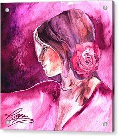 Rosa Acrylic Print by Ragen Mendenhall