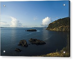 Rosario Strait Near Anacortes Acrylic Print