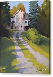 Rose And Jim's Place Acrylic Print by Todd Baxter