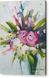 Rose Bouquet Flower Color Spring Acrylic Print