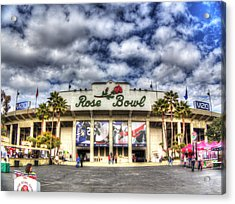 Rose Bowl Stadium Acrylic Print