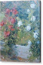 Rose Garden Acrylic Print by Bryan Alexander