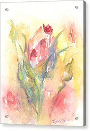 Rose Garden One Acrylic Print