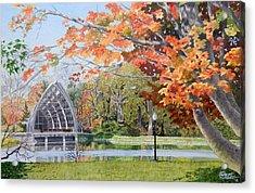 Rose Hulman Terre Haute Indiana Acrylic Print