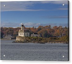 Rose Island Lighthouse  Acrylic Print