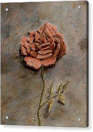 Rose Of Regeneration - Small Acrylic Print