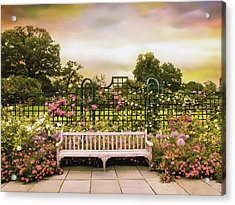 Acrylic Print featuring the photograph Rose Respite by Jessica Jenney