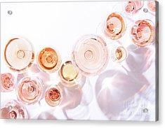 Rose Shades Acrylic Print by Ekaterina Molchanova