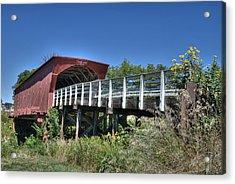 Roseman Bridge No. 5 Acrylic Print by Janice Adomeit