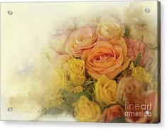 Roses For Mother's Day Acrylic Print by Eva Lechner
