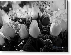 Acrylic Print featuring the photograph Roses For You by Paul SEQUENCE Ferguson             sequence dot net