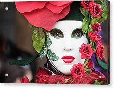 Roses I Acrylic Print by Stefan Nielsen