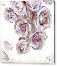 Roses Of Light Acrylic Print