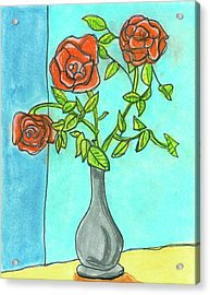 Roses R Red Acrylic Print