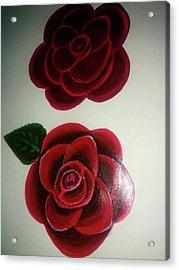 Roses Acrylic Print by Shweta Singh